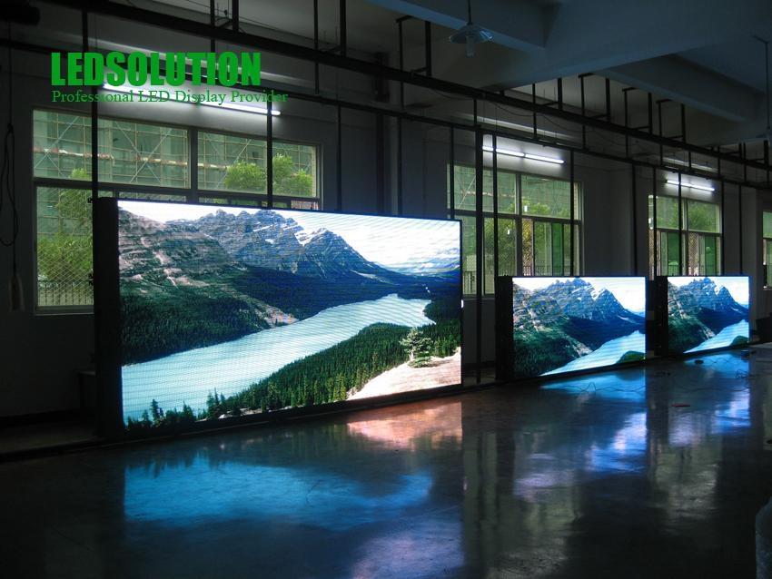 LEDSolution 7.62mm Rental Indoor SMD LED Panel 1