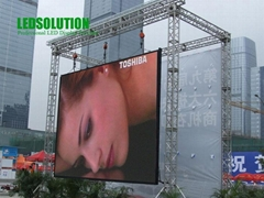 LEDSolution 10mm Rental Outdoor Oval LED Panel