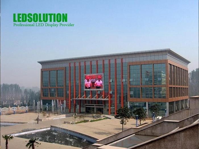 LEDSolution 14mm Permanent Outdoor Oval LED Panel 1
