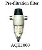 Pre-filtration filter