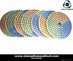 Diamond Wet Flexible Polishing Pads (DP04)
