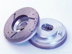 Snail Lock Griding Wheel