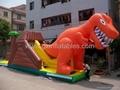 充氣恐龍滑梯 4