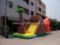 充氣恐龍滑梯 5