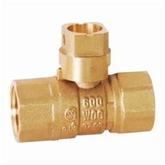 2-Piece Brass Gas Ball Valve, CSA Approved