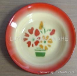 SOUP PLATE 2