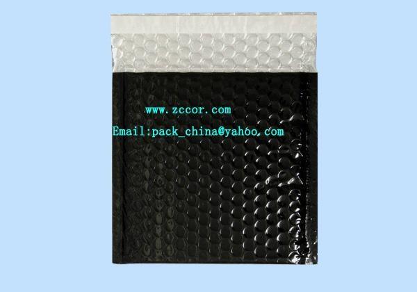 黑色鍍鋁膜復合氣泡信封快遞包裝袋 4
