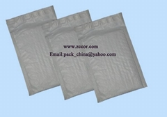 white Poly bubble envelope mailer bags