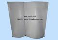 white kraft glossy film aluminum foil coffee bean packaging bag 4