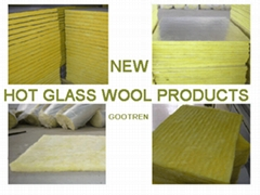 Air-conditioner duct insulation firberglass wool board