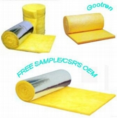 Sound insulation meterial--glass wool felt for light wall