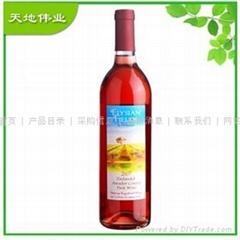 美國加州紅酒艾利菲2007桃紅葡萄酒
