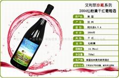 美國加州紅酒2004珍藏干紅葡萄酒