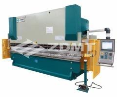Electro hydraulic CNC Press Brake with Delem DA69W
