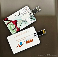 Promotional gift Credit Card usb flash drive