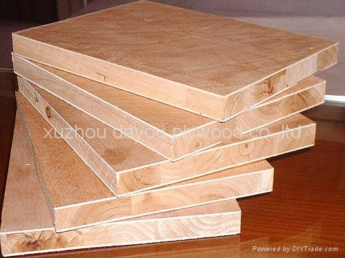 Block Board Plywood ~ Core board plywood dayou xuzhou china