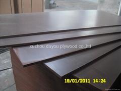 1250*2500mm black film faced plywood