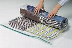 Hand rolling Travel Vacuum Compressed Bag