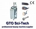 Vertical cavitation RF slimming machine