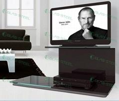 GLAS-STEEL Furniture, Glass TV Units, Glass TV Cabinet, Modern TV Furniture