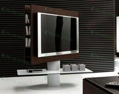 GLAS-STEEL Furniture, TV Stand, TV Units, TV Cabinet, TV Rack, Glass TV Stand