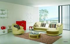 home furniture leather sofa