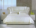 home furniture leather  bed