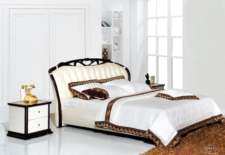 home furniture leather bed 1. home furniture leather bed   NL009   ANADU  China Manufacturer