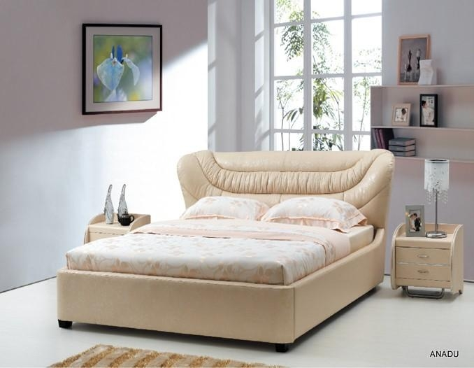 home furniture soft bed 5