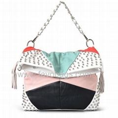 pu synthetic leather handbags