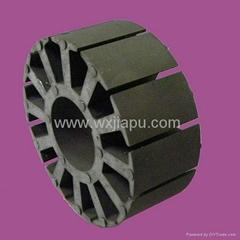 Rotor or stator stamping core