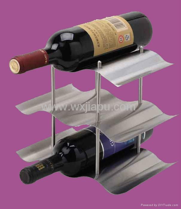 不锈钢等金属红酒瓶托盘 4