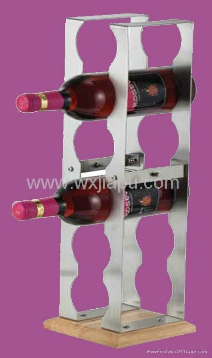 不锈钢等金属红酒瓶托盘 3
