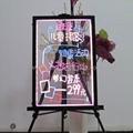 2012 new arrival transparent led menu board 5