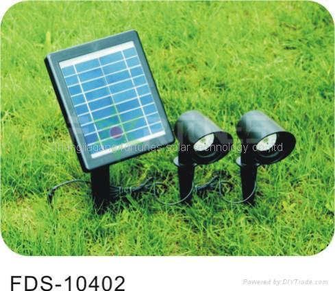 FDS-10402  solar flood light
