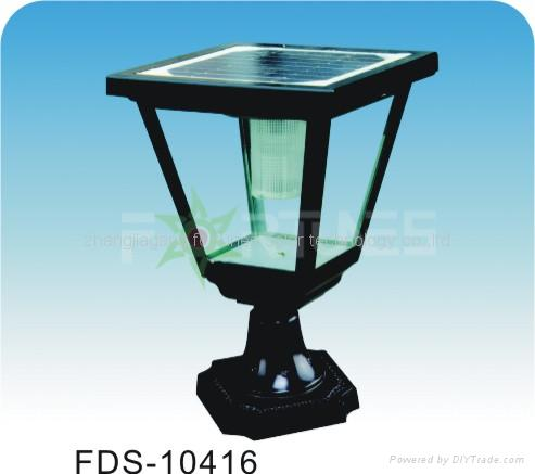 FDS-10416 solar lights fixed on the wall-top