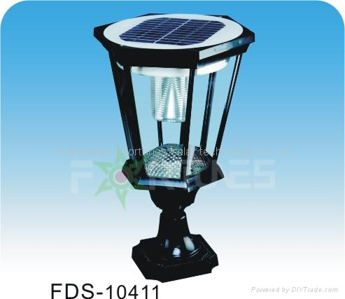 FDS-10411 solar lights fixed on the wall-top