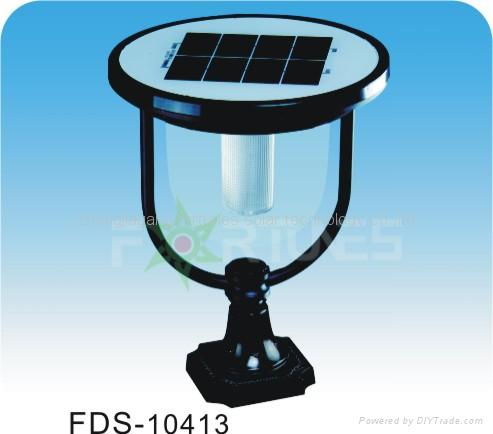 FDS-10413 solar lights fixed on the wall-top