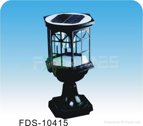 FDS-10415 solar lights fixed on the wall-top