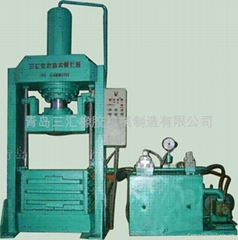 复合胶、再生胶压型打包机
