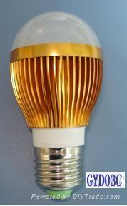 LED bulb light 3