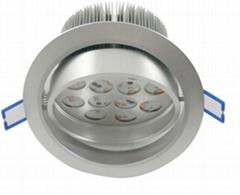high power Epistar LEDs 12X1W  led ceiling light