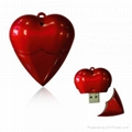 New Heart Shape USB Memory Drive