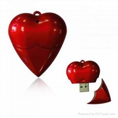 New Heart Shape USB Memory Drive