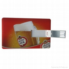 Hot Sell Credit Card USB Flash Disk