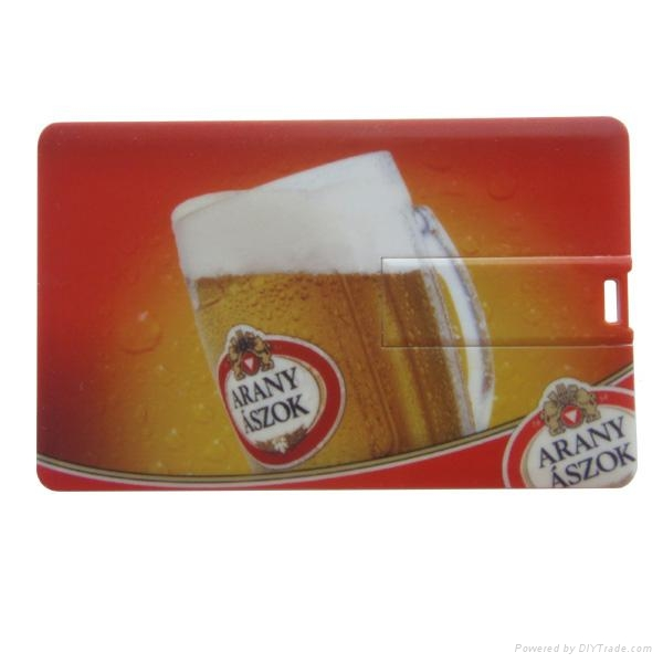 Hot Sell Credit Card USB Flash Disk 2