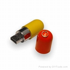 Gift OEM Capsule Shape USB Stick