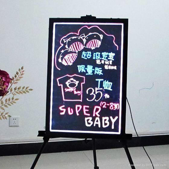 2012 New fashion LED Writing Board 1