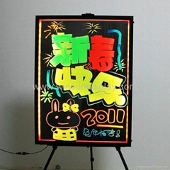 led writable board(re-writable, erasable)