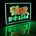 led fluorescent writing board for advertising/promotions(500*700mm) 1